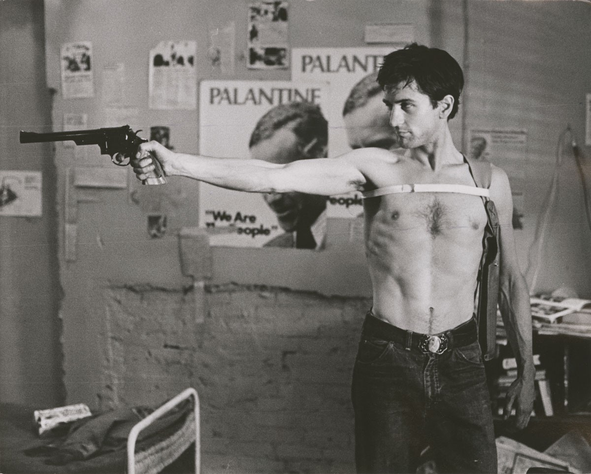 POSTER TAXI DRIVER ~ Robert DeNiro TALKIN TO ME