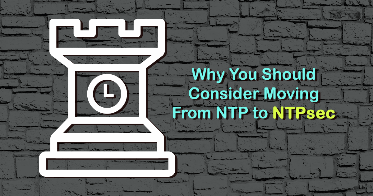 Why You Should Consider Moving From NTP to NTPsec - Linode