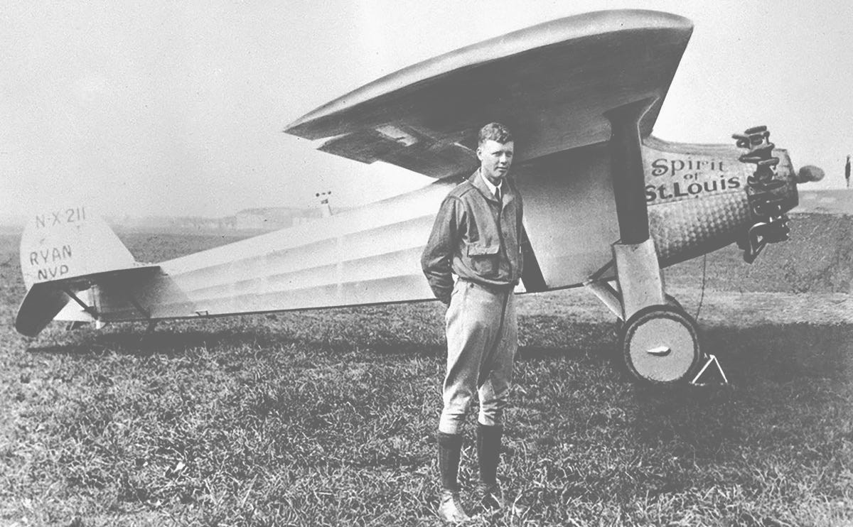 Not sure? Ask Yourself What Charles Lindbergh Would Do. | Magic Room Brand blog