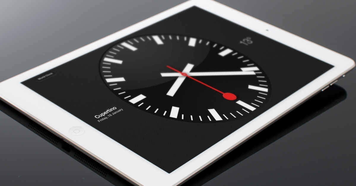 5 Ways To Get The Most Use Out Of Your Ipad By Tablet Couture Medium Here is a really simple online digital clock! tablet couture