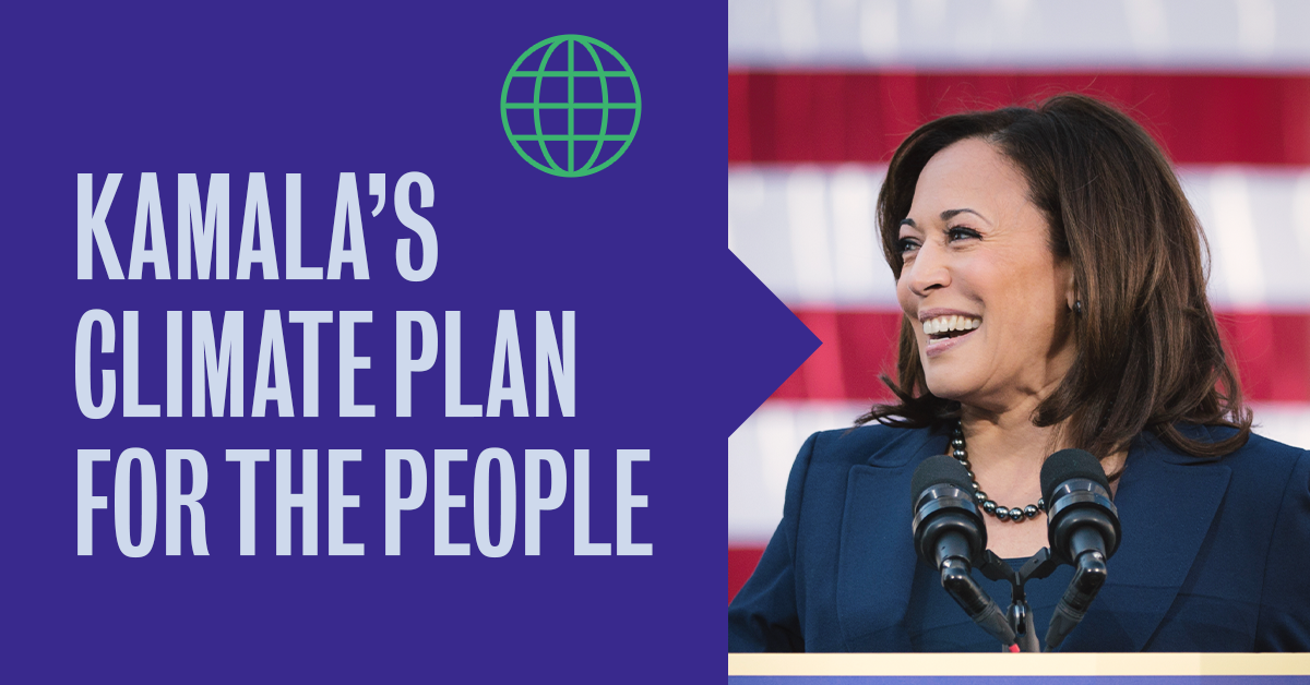 Kamala's Climate Plan for the People