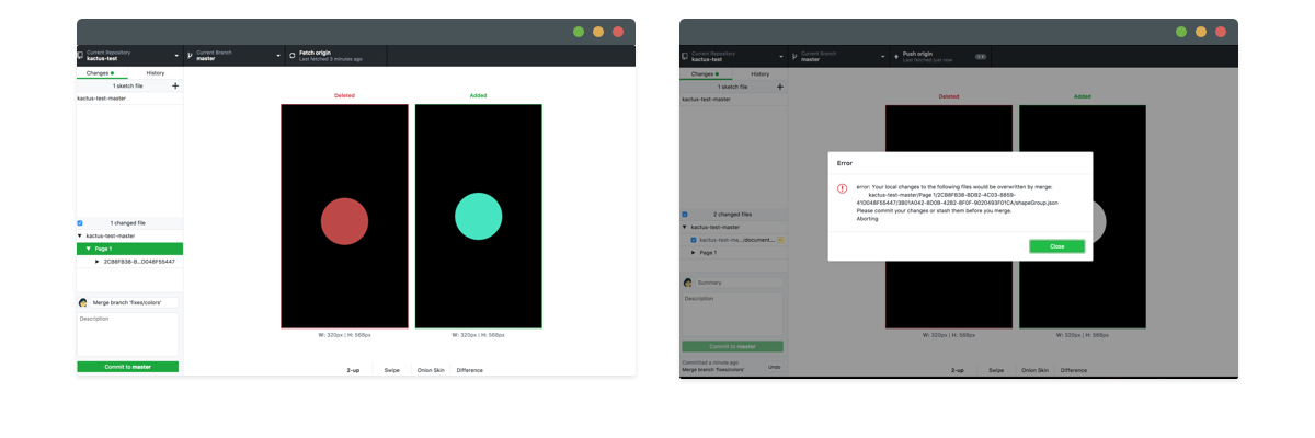 Abstract Vs Kactus Vs Plant A Guide Of Version Control Solutions For Sketch By Marie Lu Vinh Prototypr