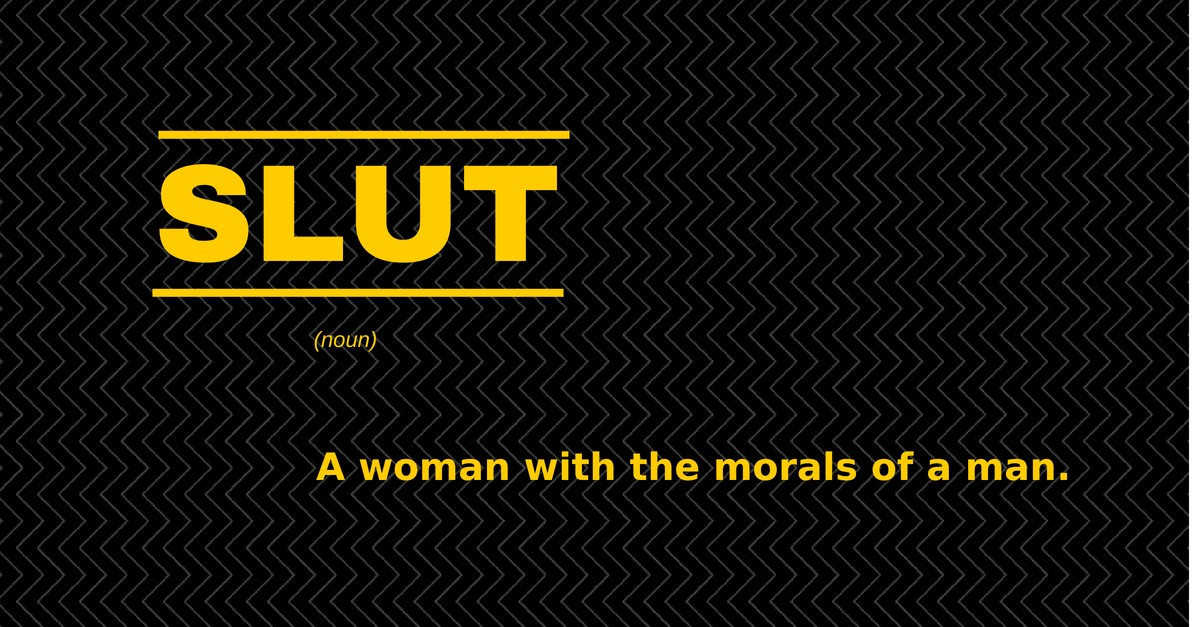 Difference Between Slut And Whore