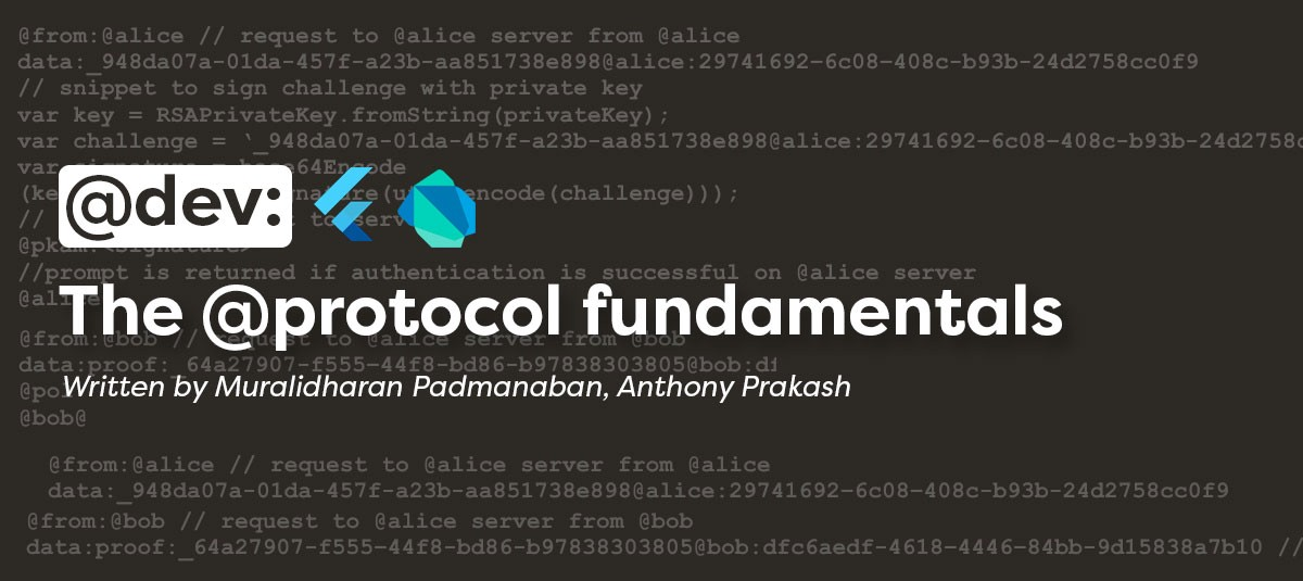 Header with the @protocol fundamentals