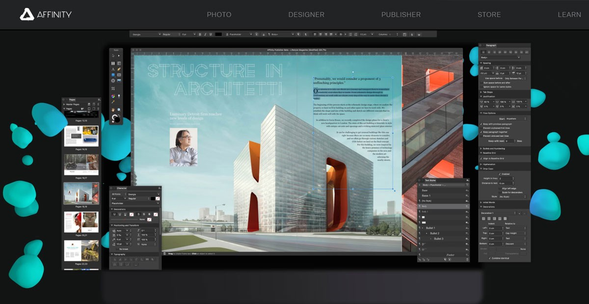 Affinity Graphic Design Software