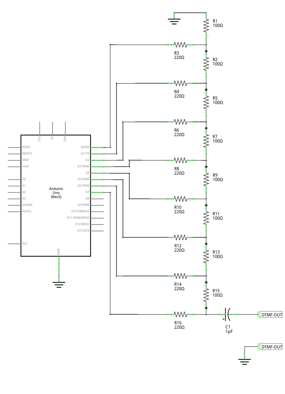 Do we need another chip to generate DTMF tones with Arduino?