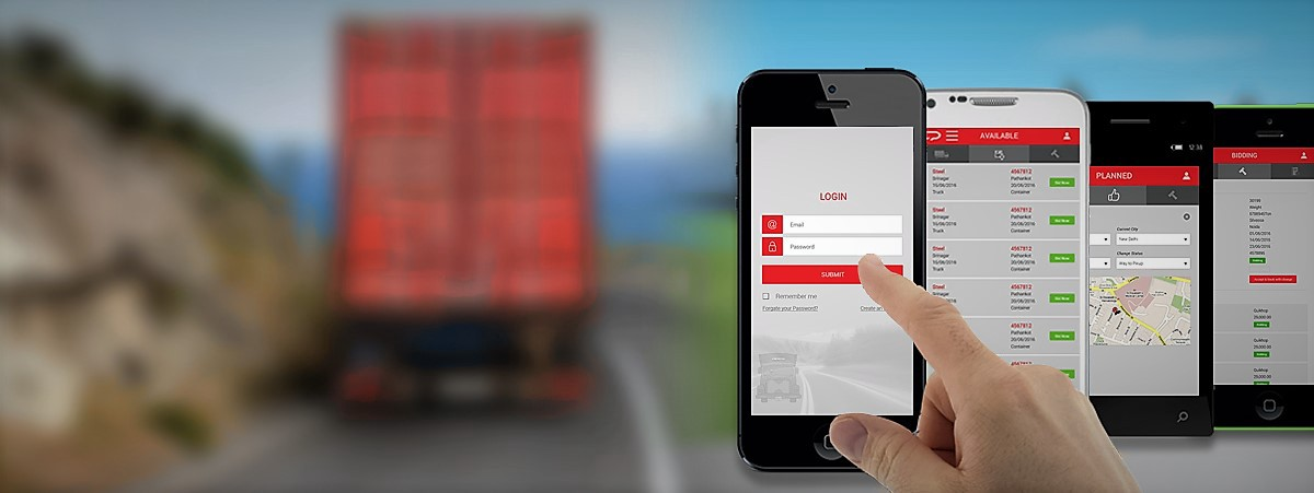 Truck Hire and TMS for Logistics: Mobile Apps are the Future