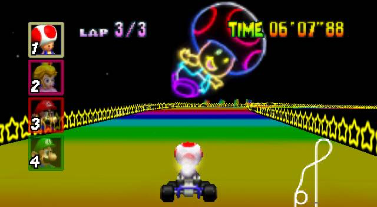 The Crash Of Beloved Mario Kart Character Toad And His Tesla Kart