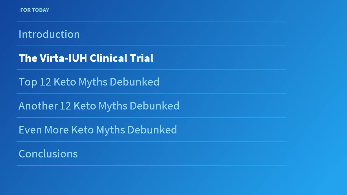 Forty Keto Myths Debunked By Clinical Trials By James Mccarter Medium