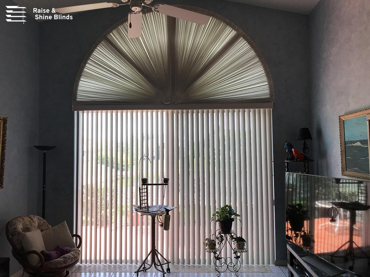 Best Window Treatment Solutions For Doors By Raise Shine Blinds Medium