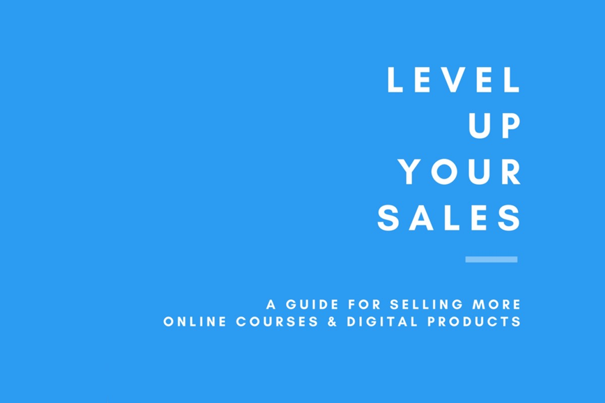 FREE eBook! Level up your sales: a guide for selling more