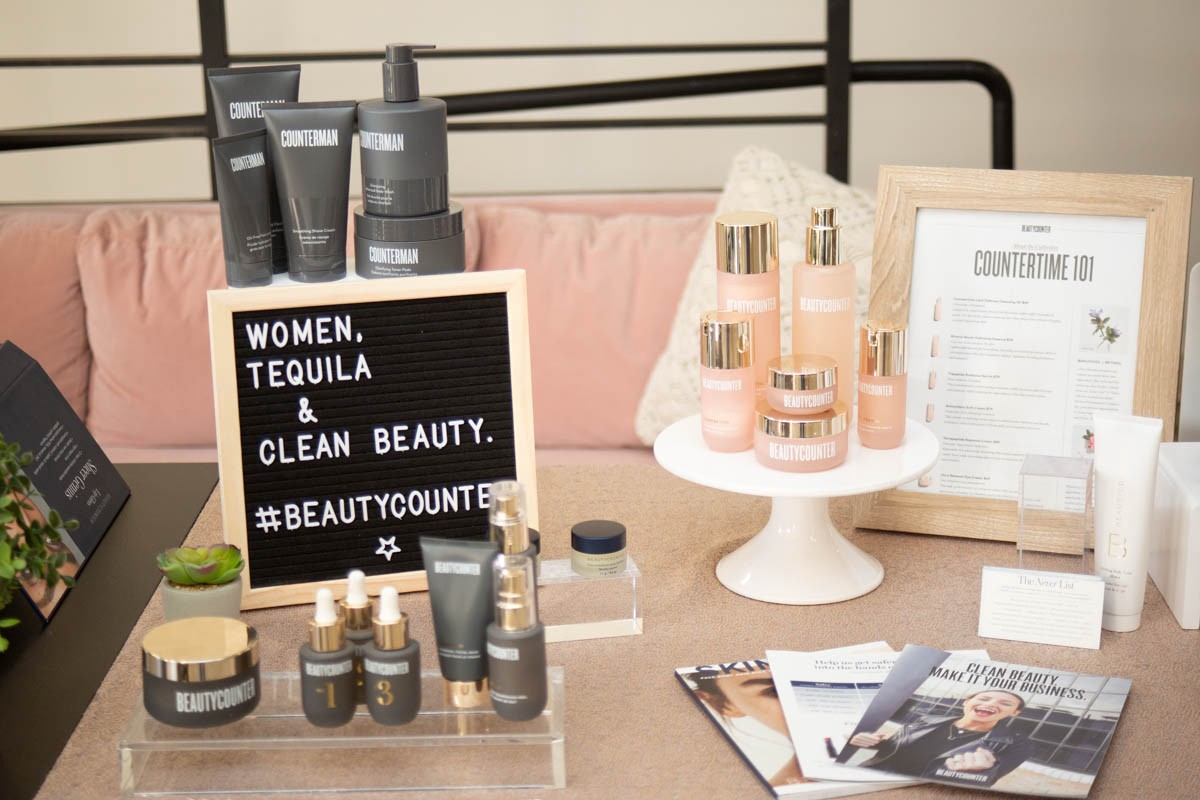 Beauty Counter — THEPRBARinc.com event- Photo by Bernadette Marciniak