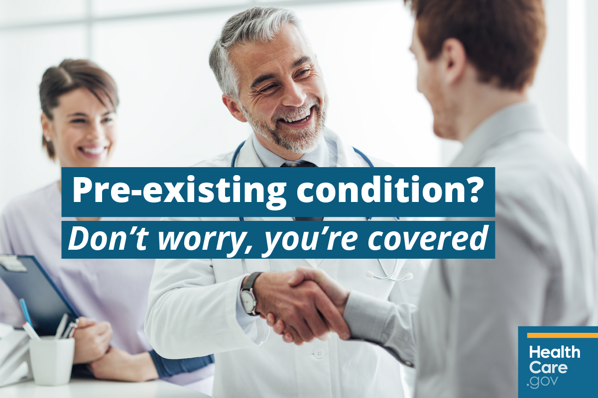 I Have a Pre-Existing Condition. Don't people with illnesses need ...