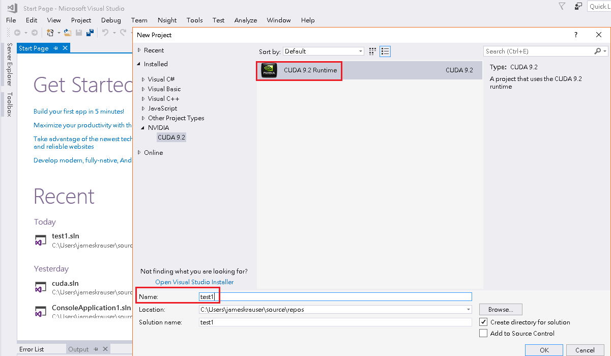 cuda] unsupported Microsoft Visual Studio version! Only the