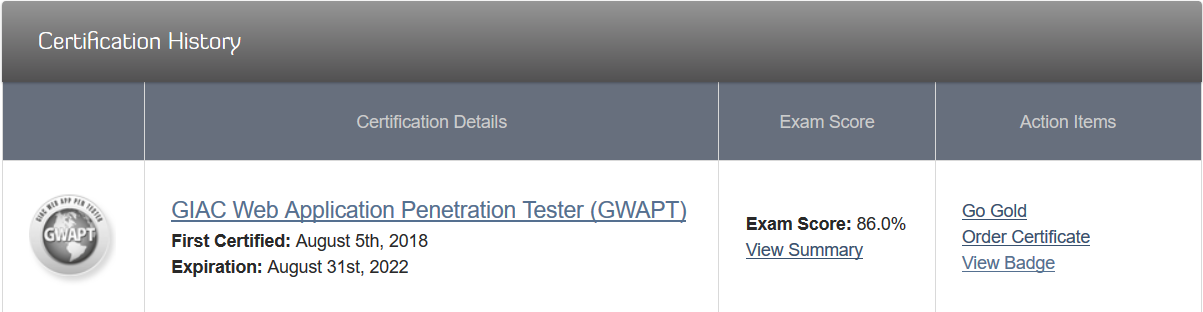 How I passed GWAPT Sec 542 Exam with 86%! - Mohamed Talaat
