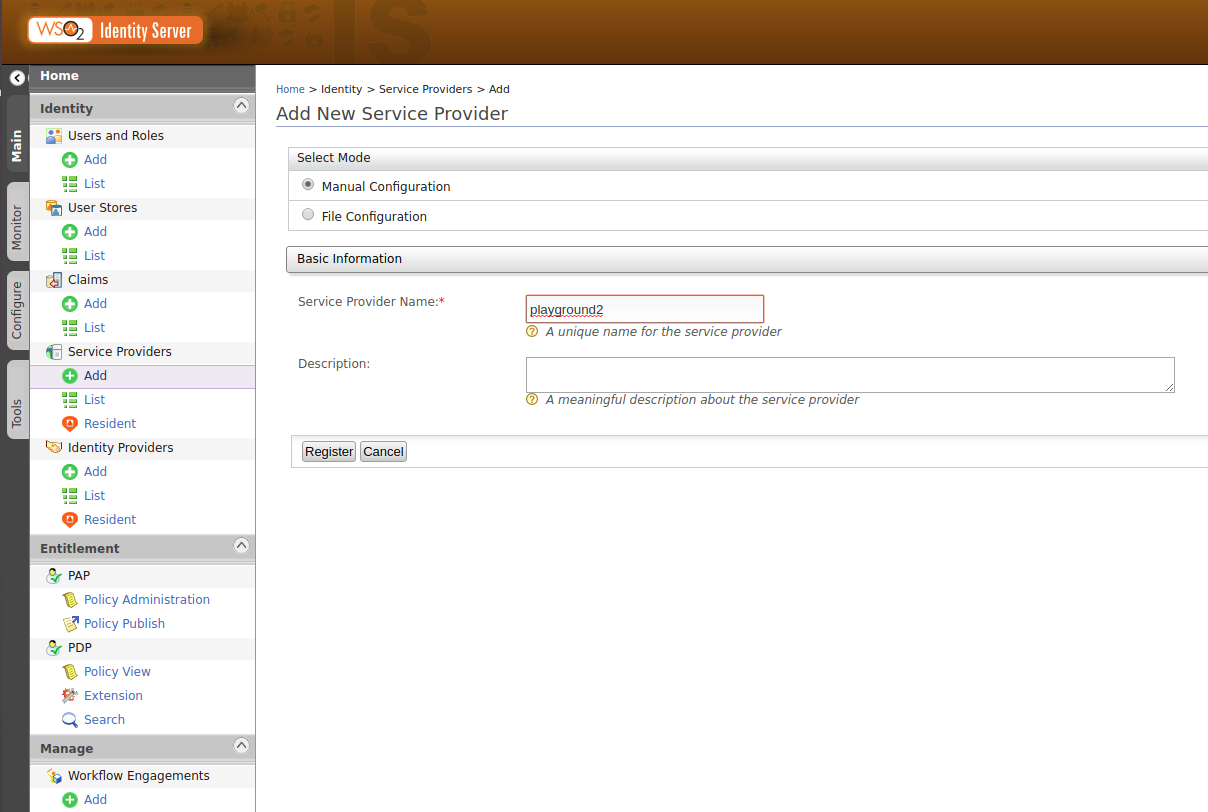 Configuring OpenID Connect Frontchannel Logout on WSO2