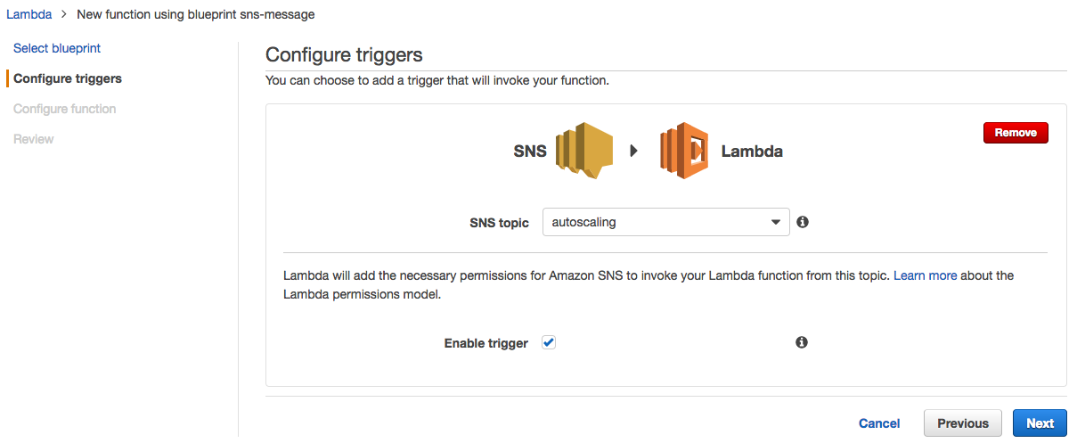 Autoscaling based on Datadog, SNS, and Lambda in AWS