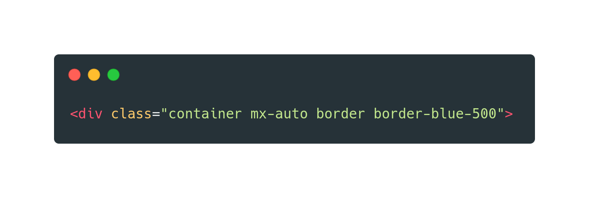 Using Tailwind CSS to style a div HTML element