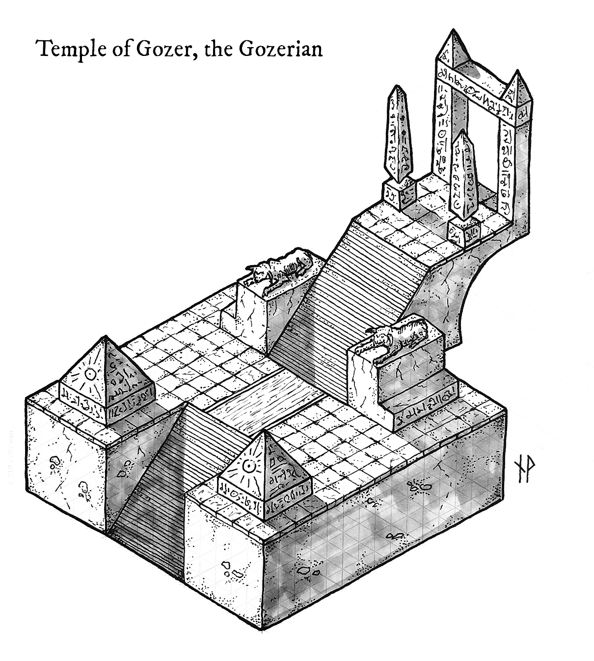 Tutorial: how to draw an isometric dungeon map - Niklas
