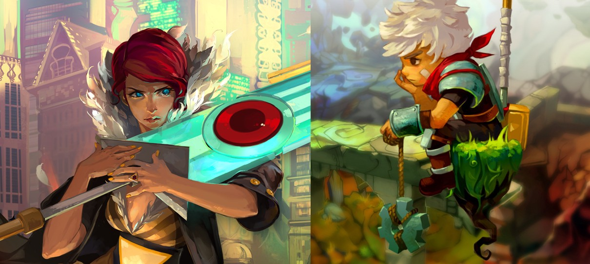 Apple v  Orange Review: Bastion and Transistor (w/spoilers)