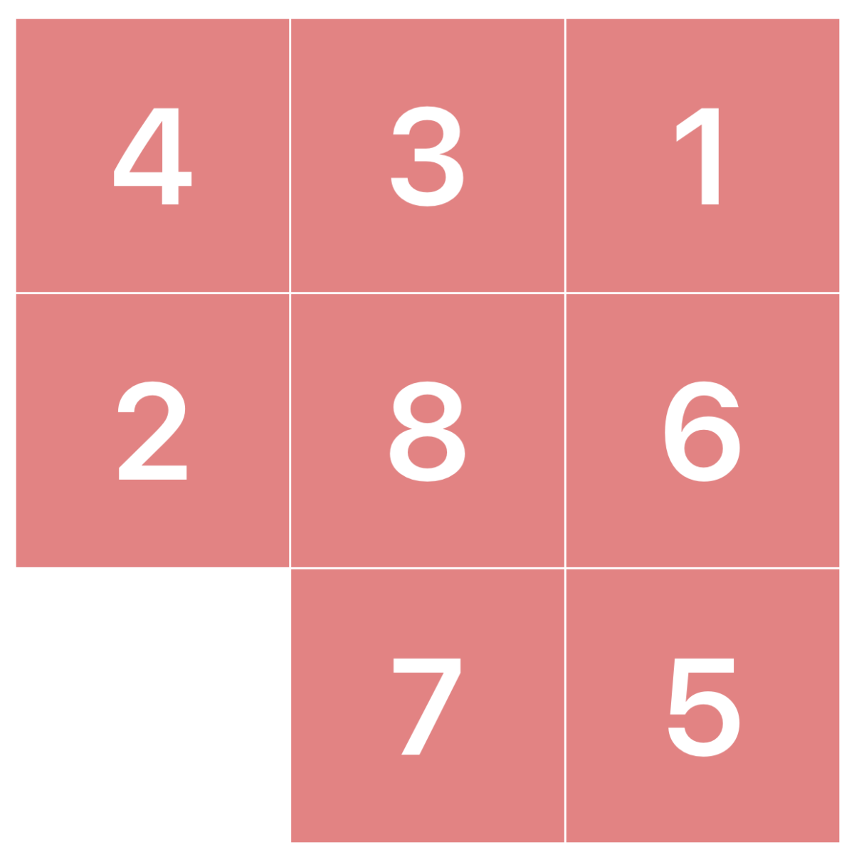 Sliding Puzzle - Solving Search Problem with Iterative