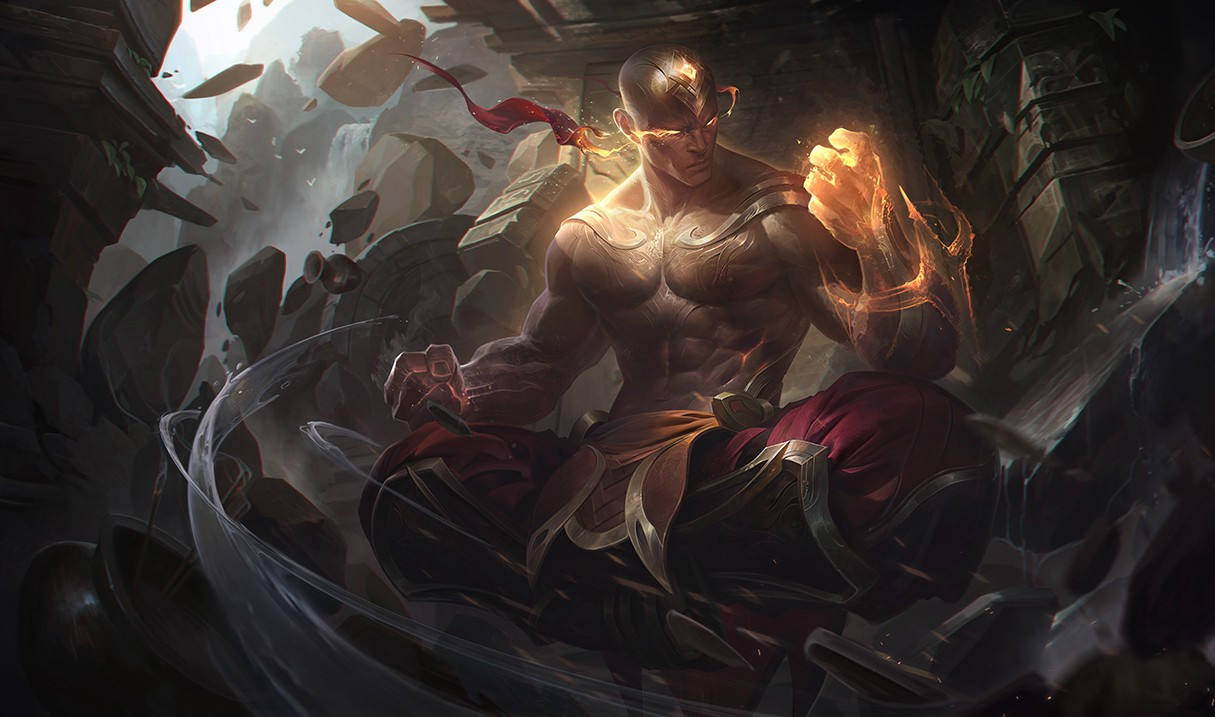 League of Legends: God Fist Lee Sin Revealed on PBE