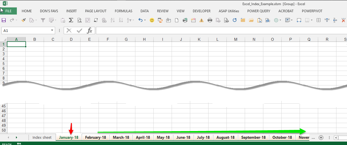 Microsoft Excel — How Do I Quickly Create a Workbook with