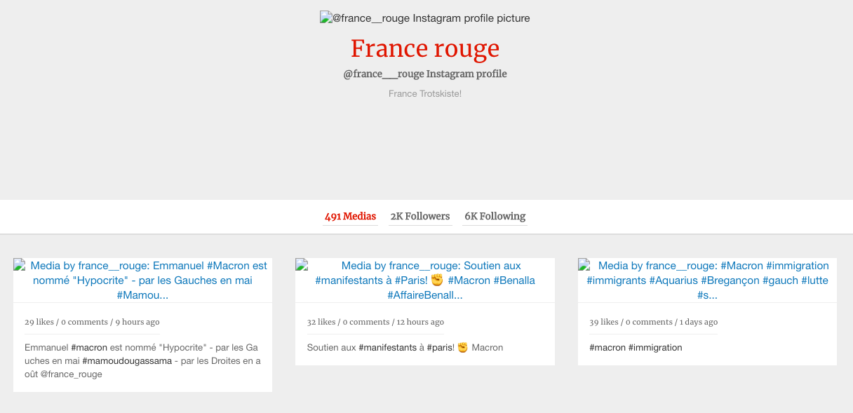 TrollTracker: Glimpse Into a French Operation - DFRLab - Medium