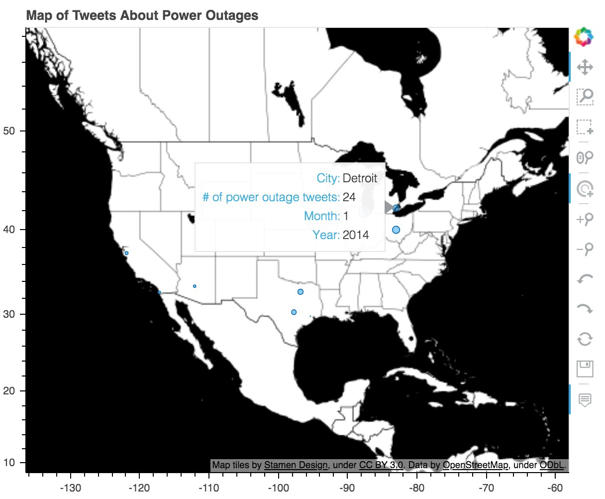 Can We Use Social Media to Locate Legitimate Power Outages?