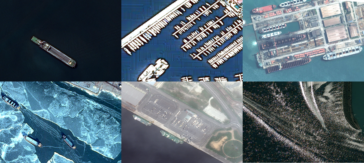 How hard is it for an AI to detect ships on satellite images?