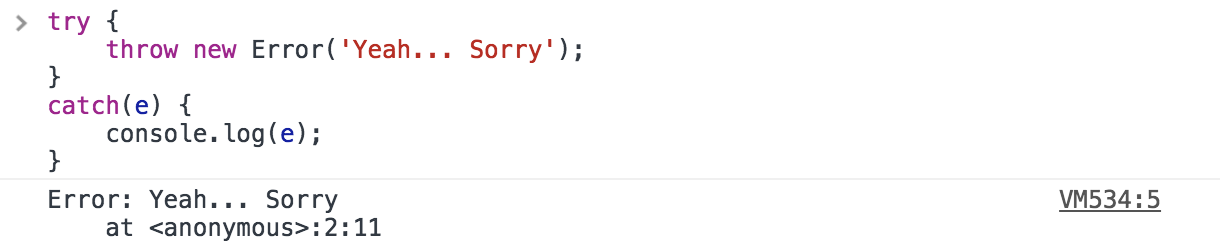 Learn how to handle JavaScript Errors with Try, Throw, Catch