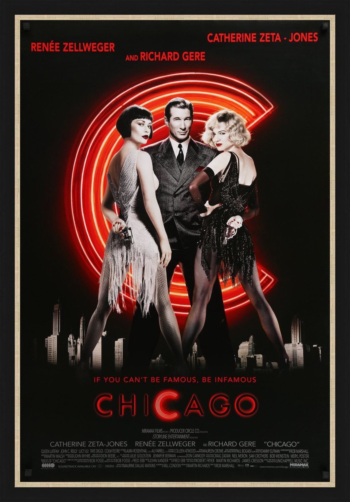 Poster for the film Chicago