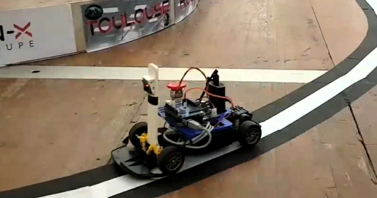 Autonomous Racing Robot With an Arduino, a Raspberry Pi and