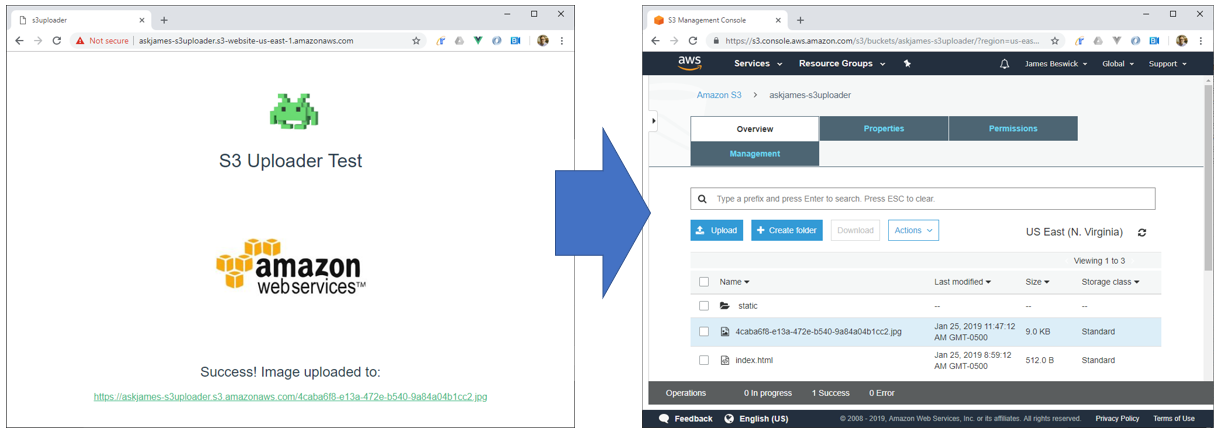 How to add file upload features to your website with AWS