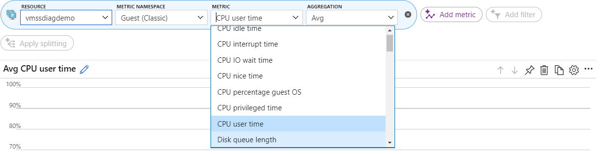 Adding Diagnostic Extensions to an Existing Azure VM Scale Set