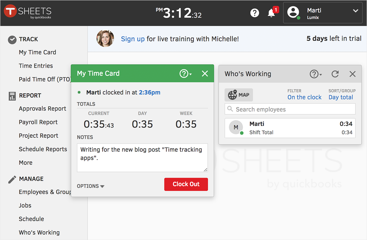 The Best Time Tracking Software of 2018 - Paymo - Medium