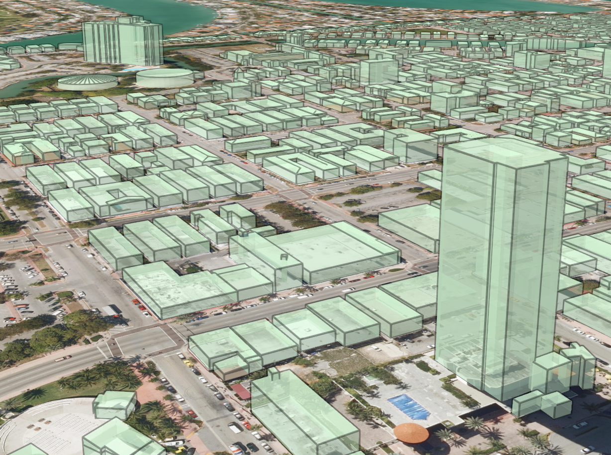 Reconstructing 3D buildings from aerial LiDAR with AI: details
