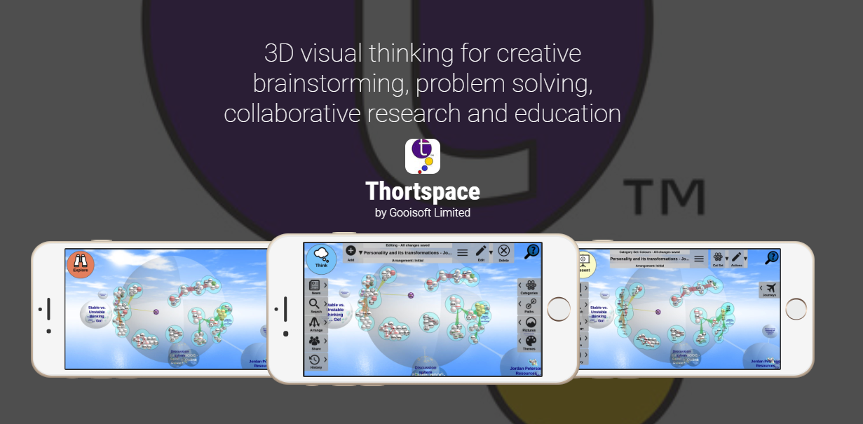 Get The Thortspace App Windows By Andrew Bindon Thortspace Collaborative 3d Mind Mapping Software Medium