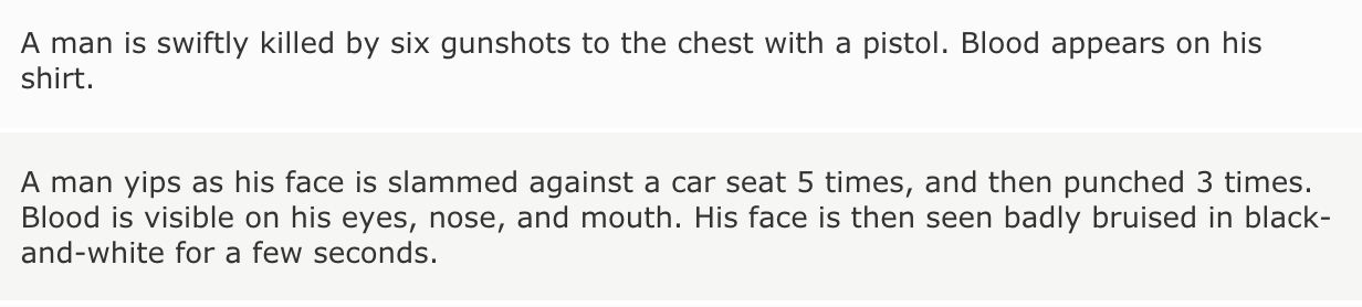 Can You Guess the Dude Movie From Its IMDb Parents Guide?