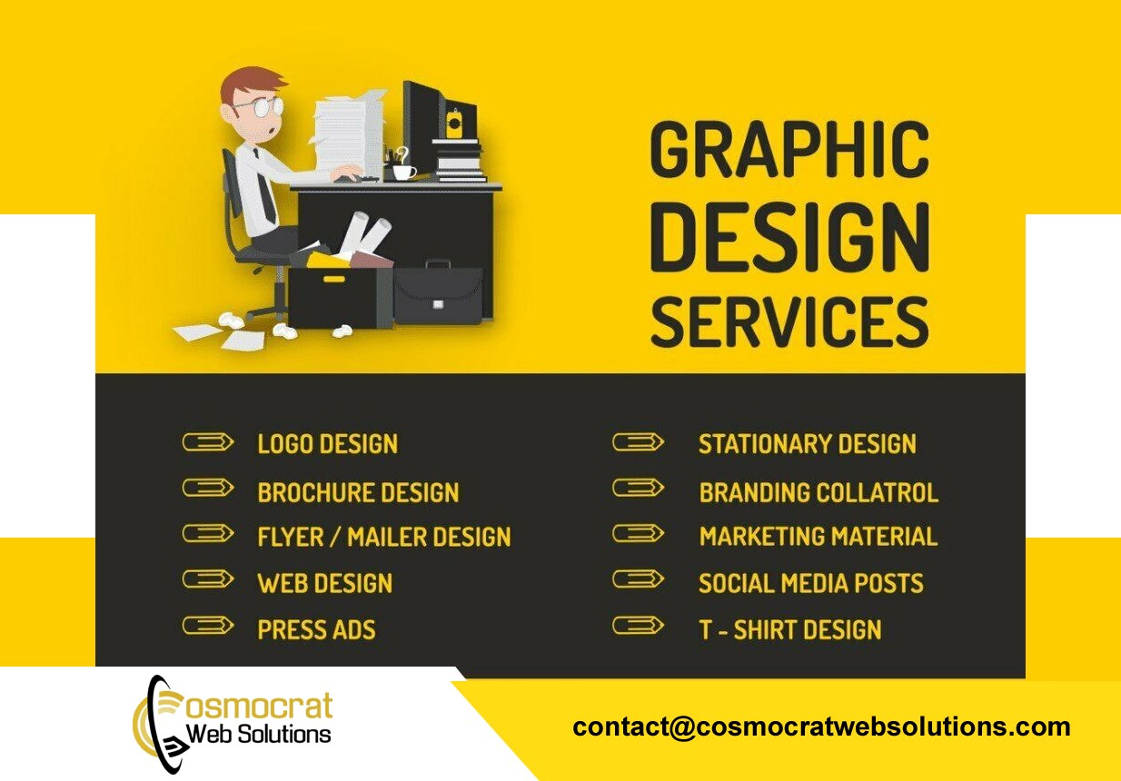 Importance Of Website And Graphic Designing In Today S World By Cosmocrat Solution Medium