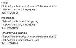 Detect file mime type using magic numbers and JavaScript
