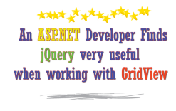 An ASP NET Developer Finds jQuery very useful when working with