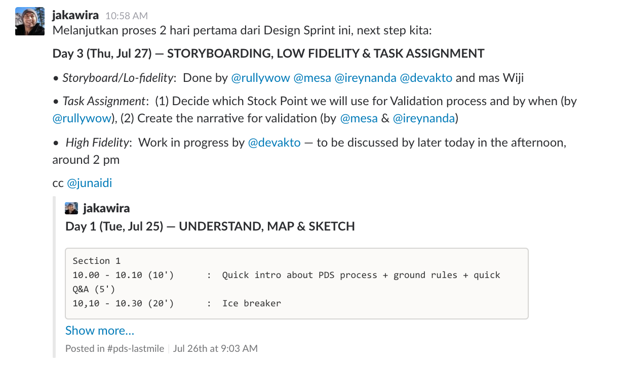 How Design Sprint improved our collaboration and problem