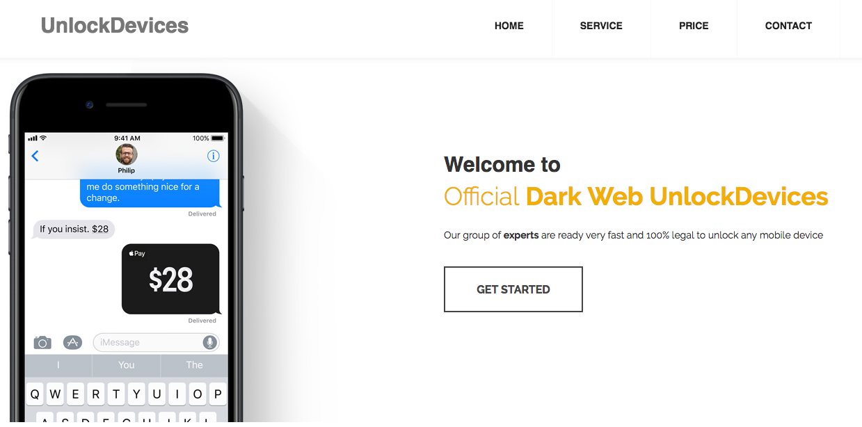 Tracing an offshore bank and a dark web service using the