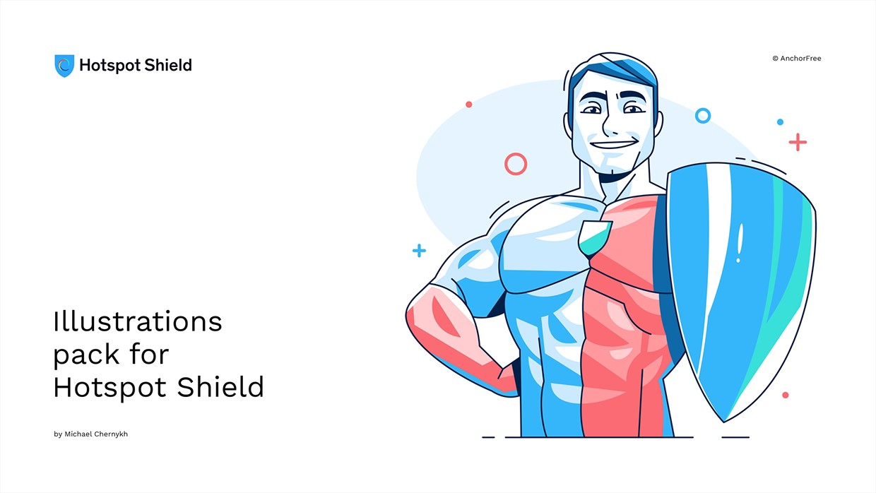 Illustrations for Hotspot Shield - Doodle Bros - Medium