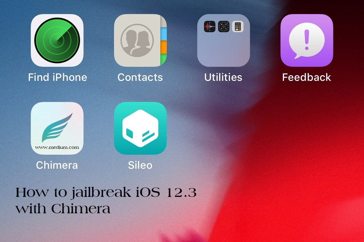 Download Chimera V_2 0 jailbreak for iOS 12 2 – iOS 12 3