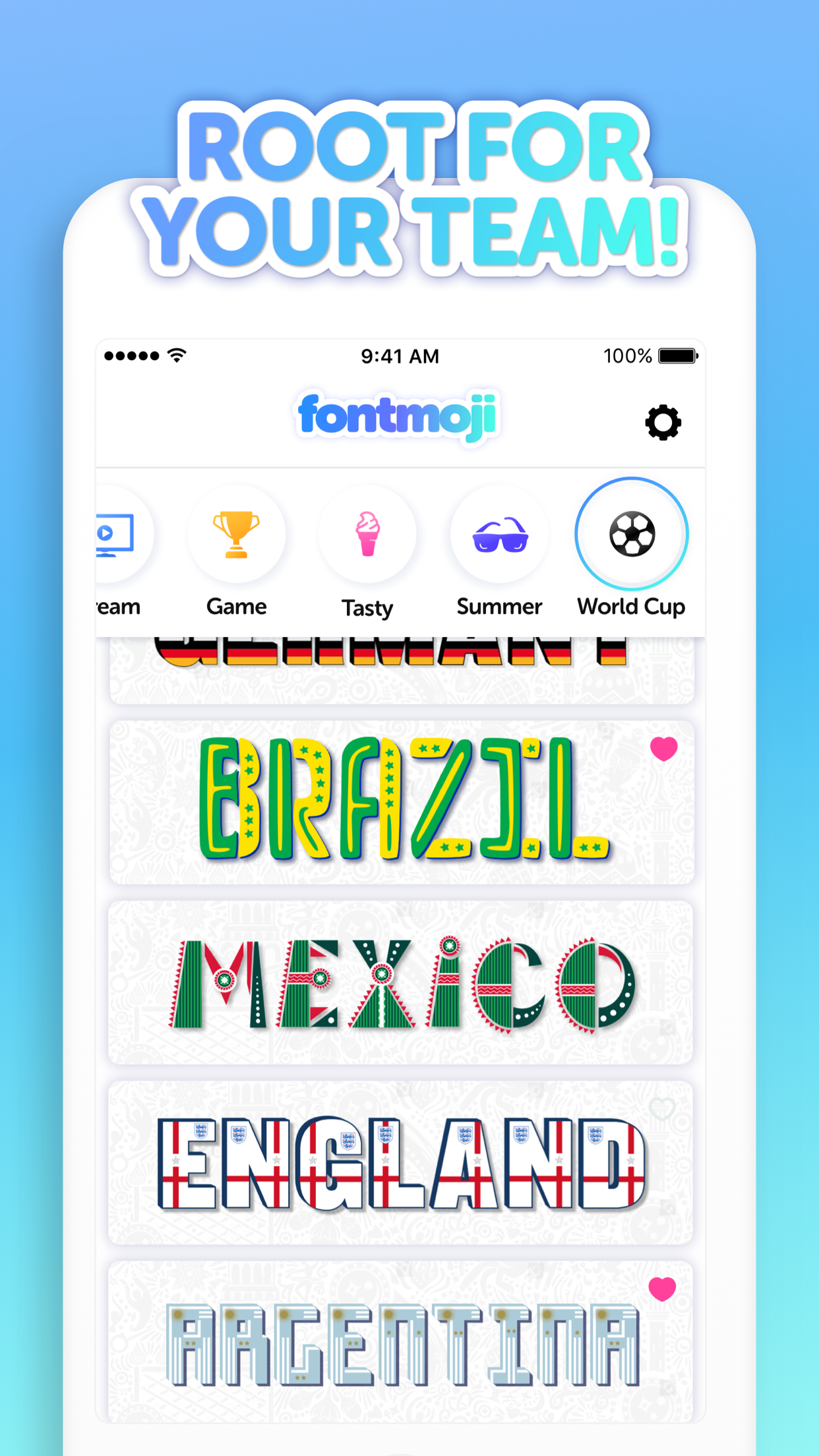This app lets you send texts using the Fortnite font, or