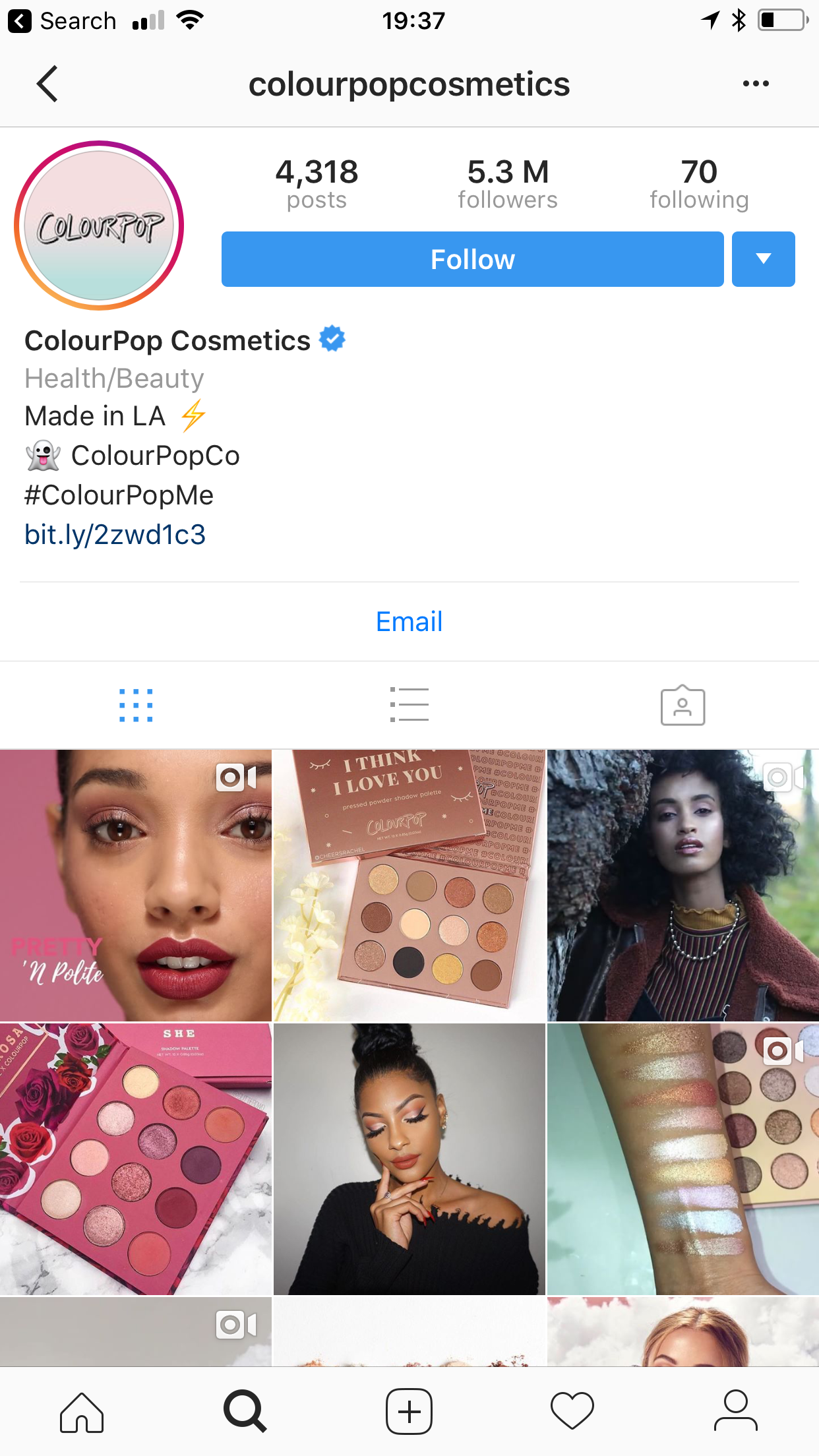 The Mobile Makeup of Instagram's Beauty Success Stories