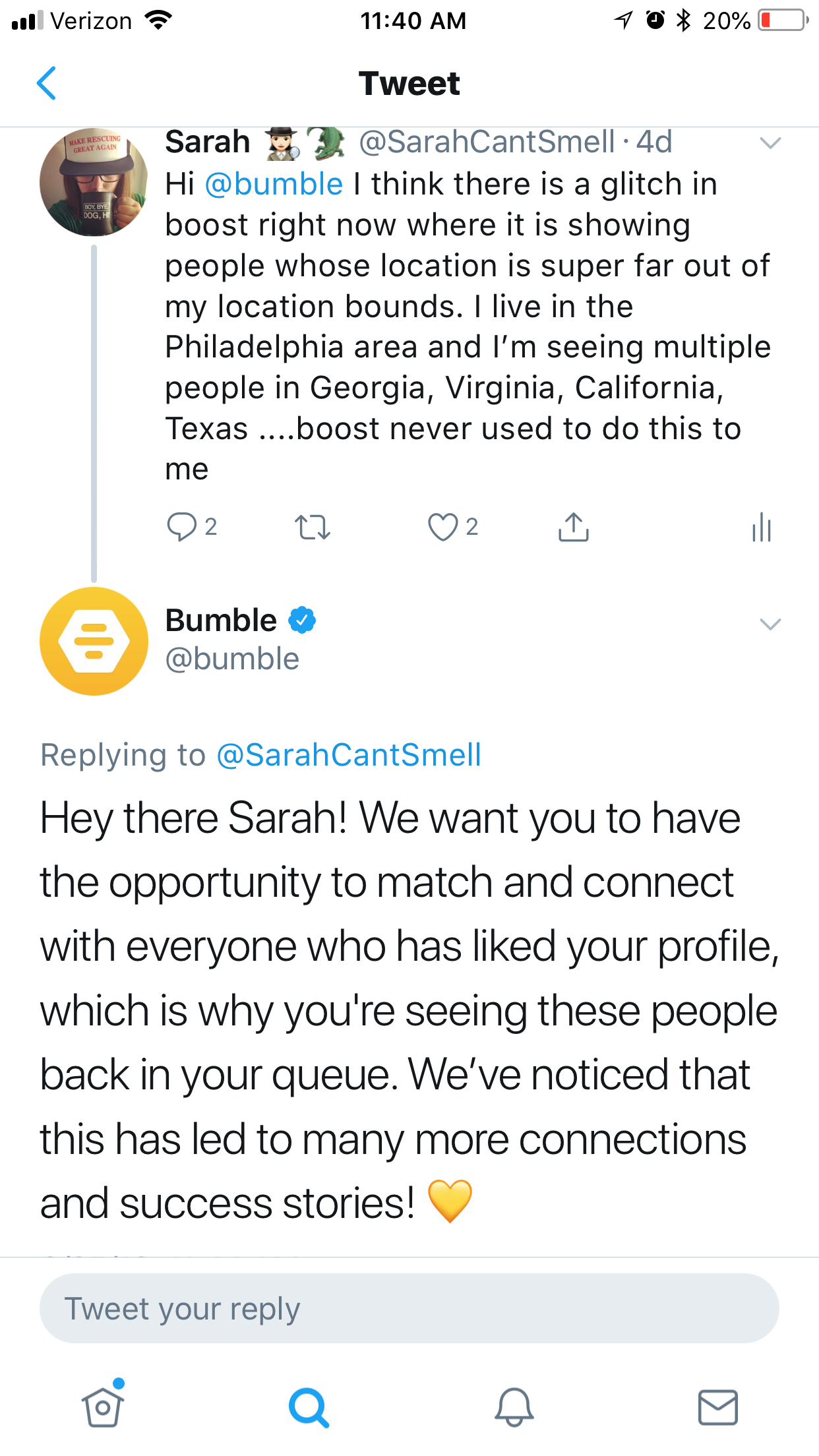 Is Bumble Straying Too Far From Its Roots? - Sarah - Medium
