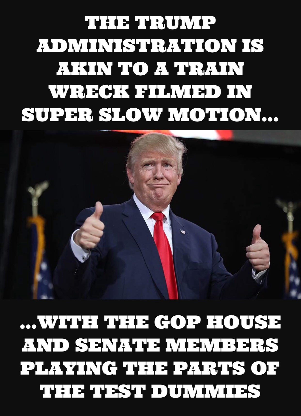 The Trump Administrations Slow But >> The Slow Motion Train Wreck That Is The Trump Administration